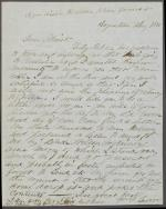 Letter from George Freaner to Christian Humrich