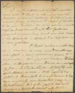 Letter from John Carson to Robert McPherson