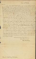 Letter from John Armstrong Jr. to Henry Morfit