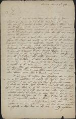 Letter from William Irvine to Joseph Reed