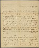 Letter from William Wilkins to John Calhoun