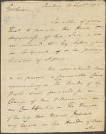 Letter Edward Biddle to Jasper Yeates and Matthias Slough