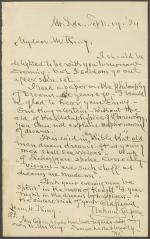 Letter from Nahum Capen to Horatio King