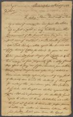 Letter from James Smith to Frederick Muhlenberg