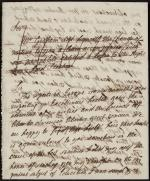 Letter from Catharine Graham to George Washington (Draft)