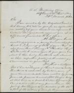 Letter from C. Ruff to William Frishmuth