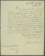 Letter from John McLean to William Murphy