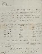 Letter from Joseph Priestley to Sir Charles Blagden