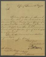 Letter from Robert Morris to Don Luis Unzaga y Amezao