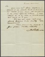 Letter from John Reed to John Brock