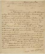 Letter from William Bingham to M. Hays