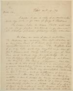 Letter from William Wilkins to William Tilghman