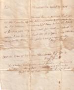Letter from Benjamin Rush to James Orbison