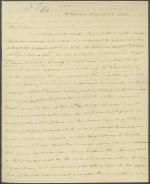 Letter from Roger B. Taney to Henry Baldwin