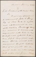 Letter from Henry Hogeboom to James Buchanan