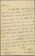 Letter from Benjamin Rush to Ashbel Green