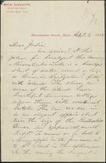 Letter from Ulysses Grant to Julia Grant