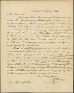 Letter from Barnabas Bates to Jesse Miller