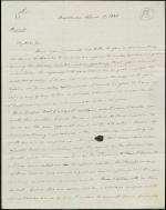 Letter from Roger B. Taney to George Newbold