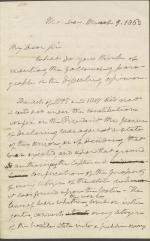 Letter from Roger B. Taney to Samuel Nelson