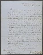 Letter from Zachary Taylor to Roger Jones