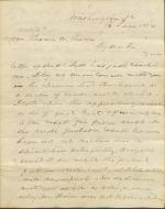 Letter from Alexander H. Stephens to Thomas W. Thomas