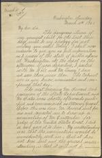 Letter from Edwin Stanton to James Buchanan (Copy)