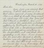 Letter from Edwin Stanton to James Buchanan (Copy)