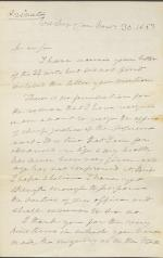 Letter from Roger B. Taney to Nahum Capen