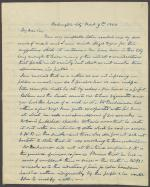 Letter from Joseph Trumbull to James Lanman