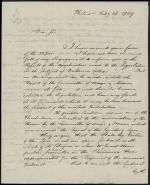 Letter from William Bingham to William Irvine