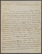 Letter from Roger B. Taney to Joel Sutherland