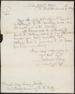 Letter from Callender Irvine to Loring Austin