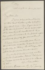 Letter from Roger B. Taney to James M. Campbell