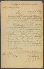 Letter from the Pennsylvania Assembly to the Governor