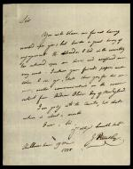Letter from Joseph Priestley to Jeremy Bentham