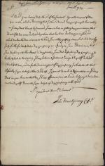 Letter from John Montgomery to Thomas Lloyd