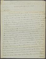 Letter from Roger B. Taney to Garret Wall