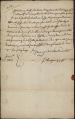 Letter from John Montgomery to Richard Peters