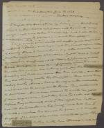 Letter from Roger B. Taney to Anne Taney