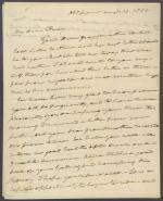 Letter from Roger B. Taney to Taney Campbell