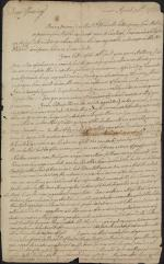 Letter from John Armstrong to James Armstrong