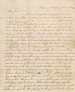 Letter from John Kennaday to His Family