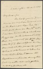 Letter from Roger B. Taney to D. Perine