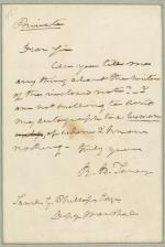 Letter from Roger B. Taney to Samuel Phillips