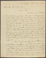 Letter from John Durbin to Johnston Armstrong