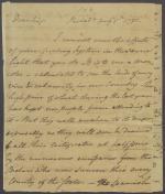 Letter from Benjamin Rush to Thomas Fitzsimons