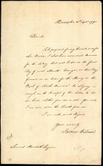 Letter from James Wilson to Samuel Meredith