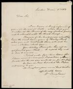 Letter from William Bingham to John Jay