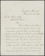 Letter from Ulysses Grant to Robert Grier